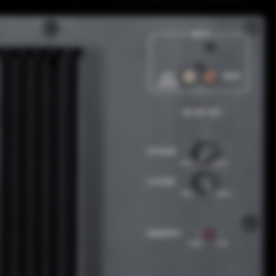 System 10 THX Ultra 2 - S 10000 SW - Back Anschlüsse Details