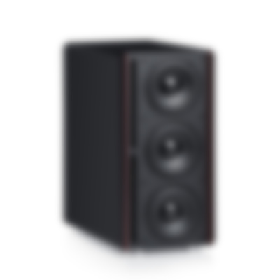 System 4 THX Compact - S 400 SW - Front Angled - black
