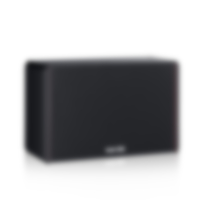 System 4 THX Compact - S 400 FCR - Front Angled - black