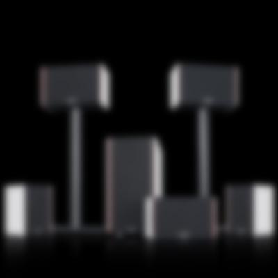 System 4 THX Compact - Set on Black