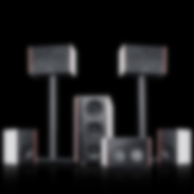 System 4 THX Compact - Set Nocover Fond Black