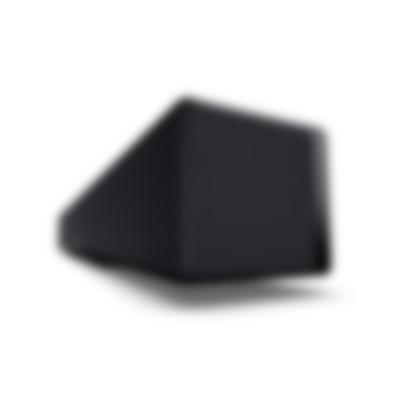 Teufel Soundbar Streaming Schwarz Seitenansicht