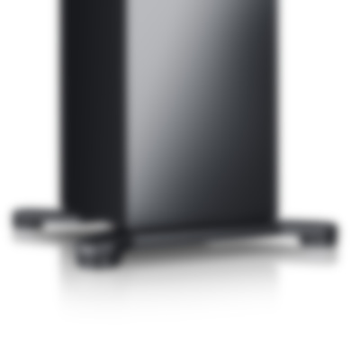 Teufel Stereo L - black - detail - stand