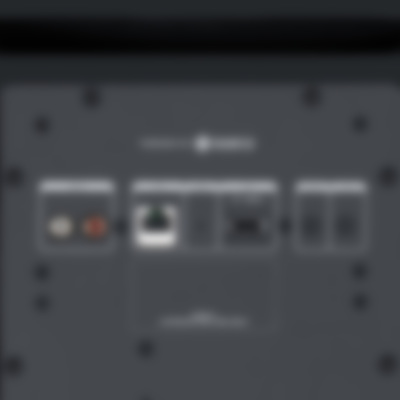 Teufel Stereo M - black - detail - power amplifer