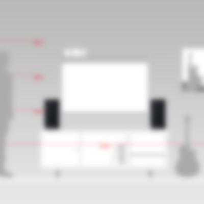 Teufel Stereo M - Größenvergleich