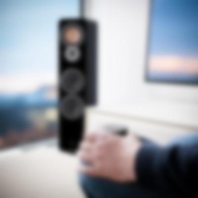 Stereo-Lautsprecher Ultima 40 Aktiv Schwarz