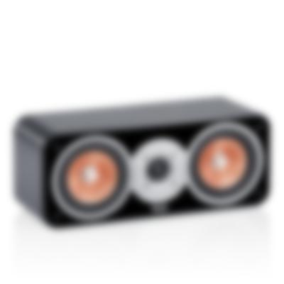 Stereo-Lautsprecher Ultima 40 Mk2 C Center-Lautsprecher Schwarz Frontansicht