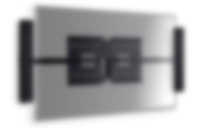 Heimkino Microlautsprecher Varion TV Frontansicht