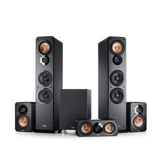 Stereo-Lautsprecher Ultima 40 Heimkino 5.1 Surround Schwarz