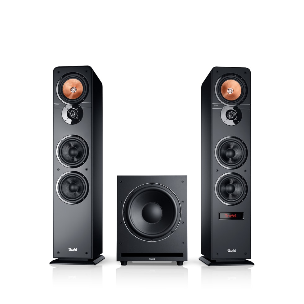 PC Lautsprecher 6.6: Stereo Sound mit Subwoofer  Teufel