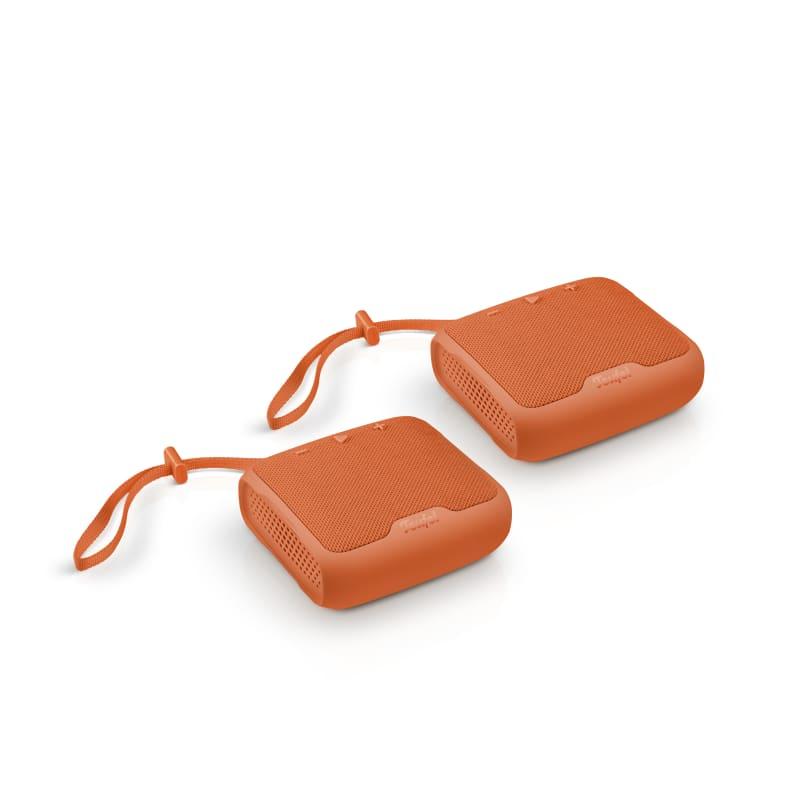BOOMSTER Go Stereo-Set - red orange - Set