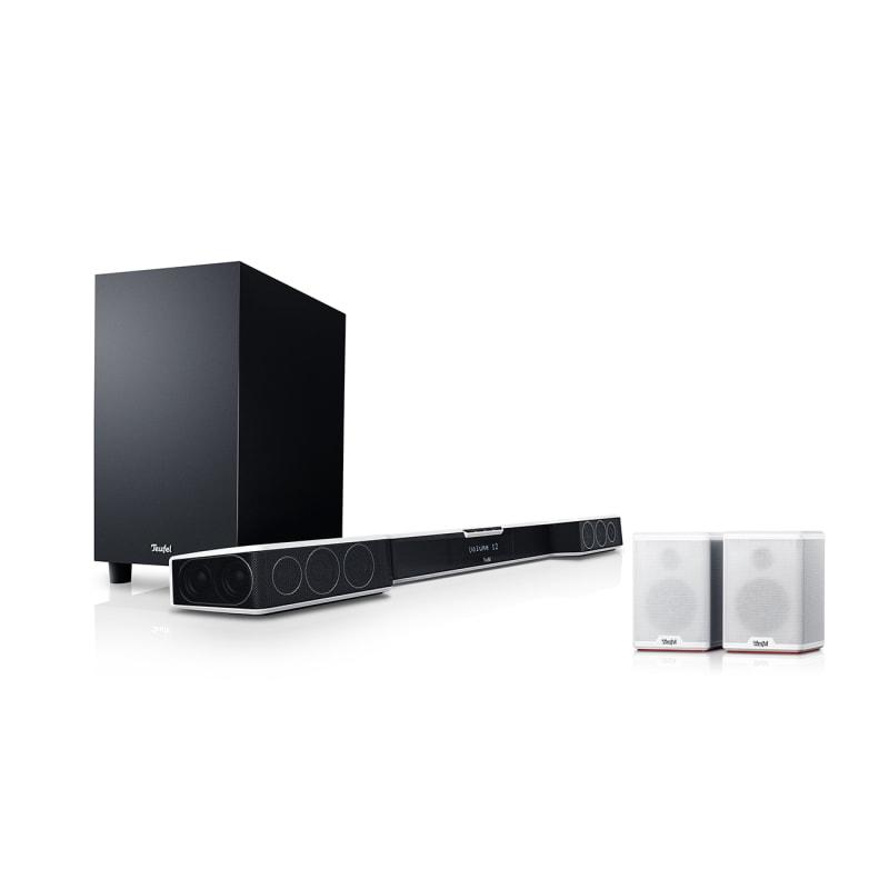 Cinebar Duett Surround Select - white/white - Set