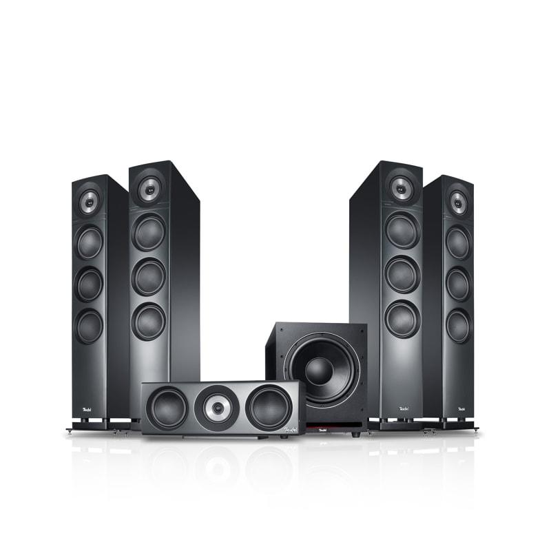 Definion 3 Surround PE (S-6000) - silver - Set