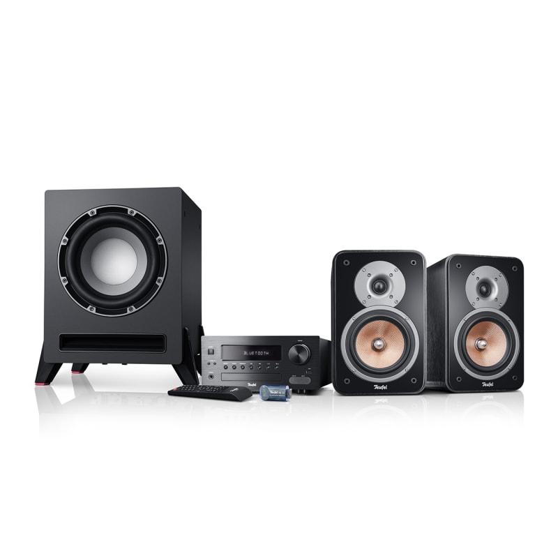 Stereoanlage Kombo 42 Bluetooth T 8 von Teufel Schwarz