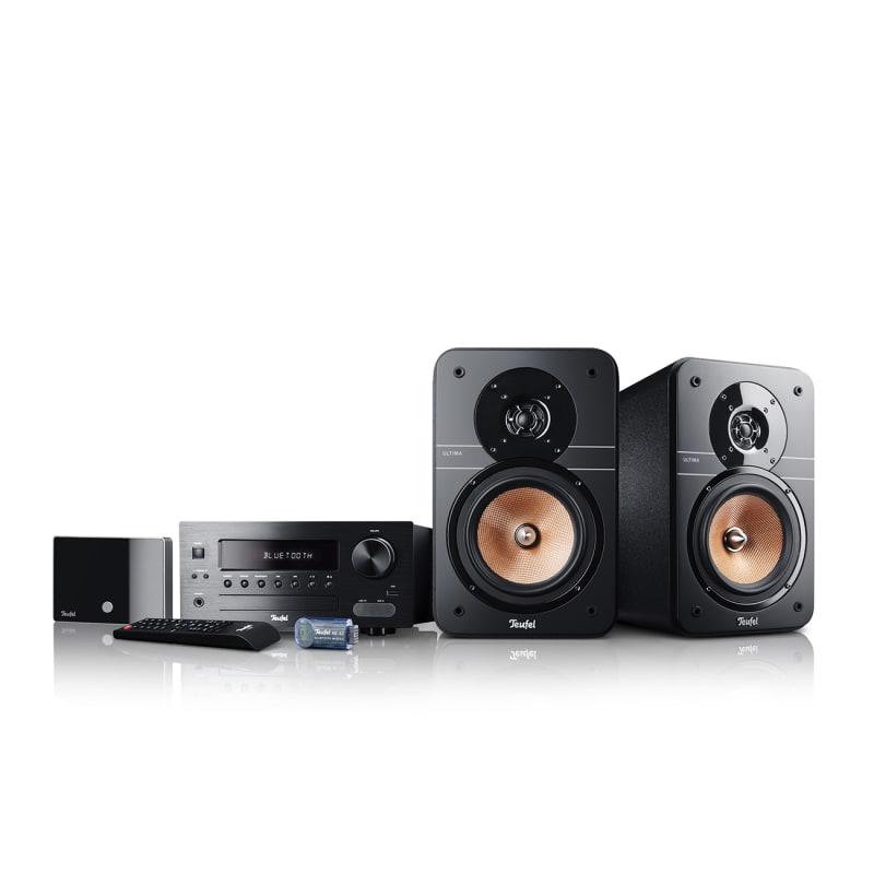 Stereo-Lautsprecher Ultima 20 Stereoanlage Kombo Streaming Schwarz von Teufel