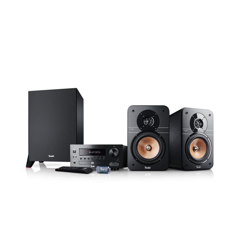 Stereo-Lautsprecher Ultima 20 Stereoanlage Kombo von Teufel Schwarz