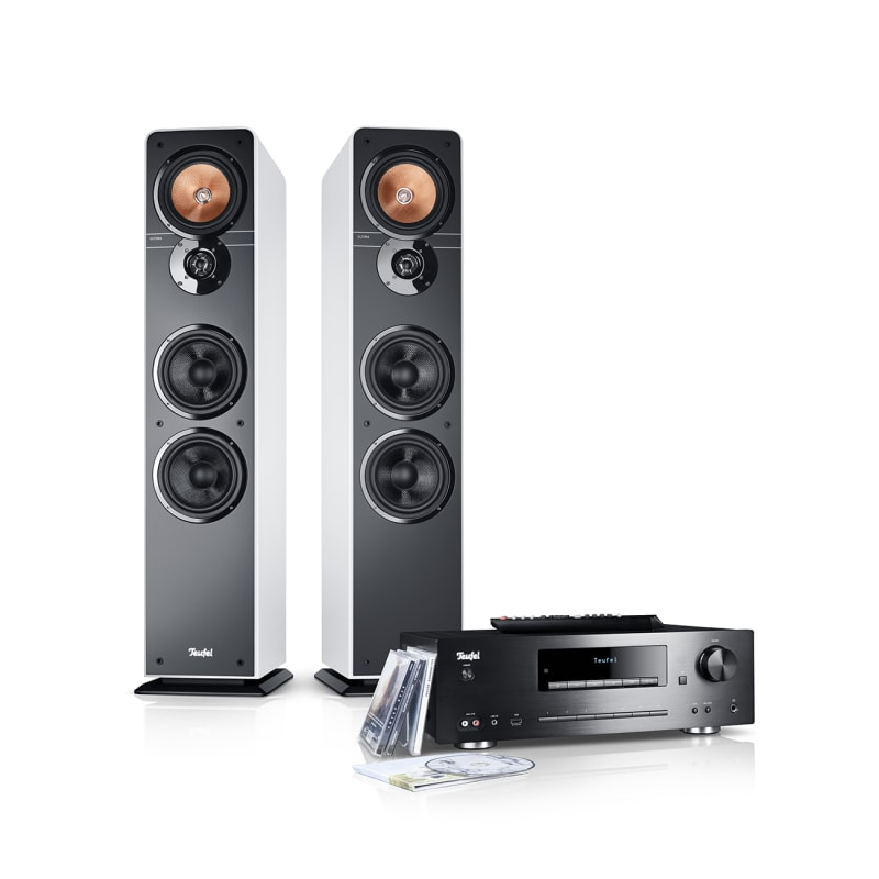 Stereo-Lautsprecher Ultima 40 Stereoanlage Kombo Weiss von Teufel
