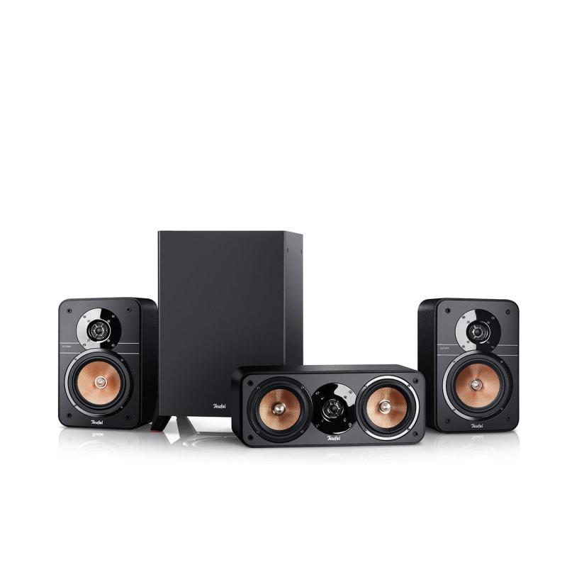 Stereo-Lautsprecher Ultima Mk3 5.1 von Teufel Schwarz