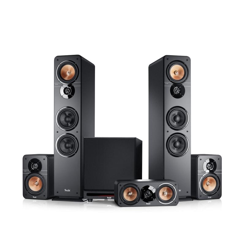 Stereo-Lautsprecher Ultima 40 Heimkino 5.1 Surround Mk3 von Teufel Schwarz