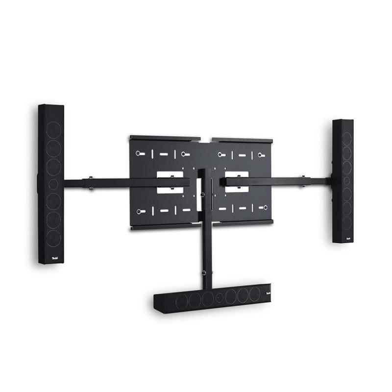 Heimkino Wandhalterung Varion 3 Stereo-Lautsprecher Speaker Frontansicht