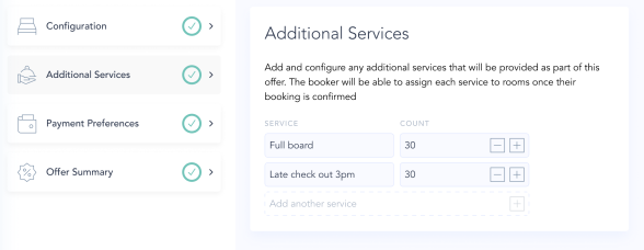 Illustration for 3. Configure additional services in bulk