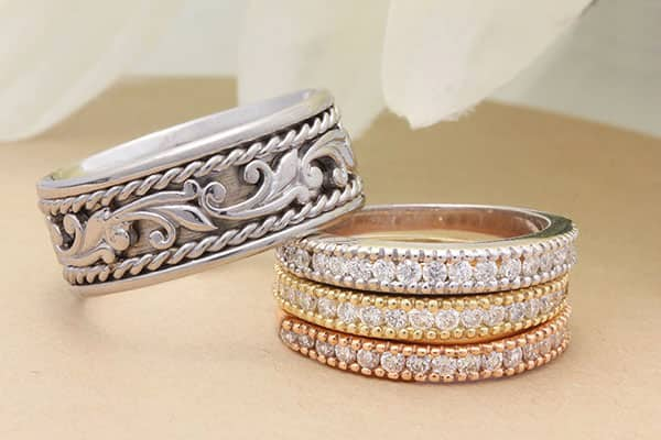 womens band - Cheap Wedding Rings Sets