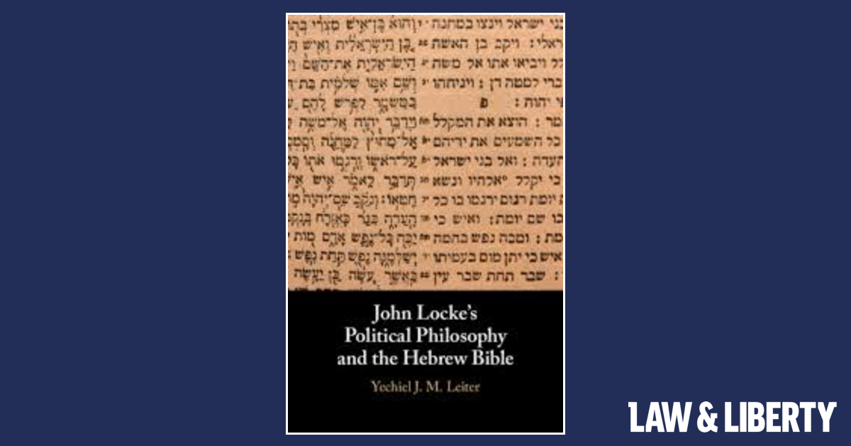 John Locke and Political Hebraism