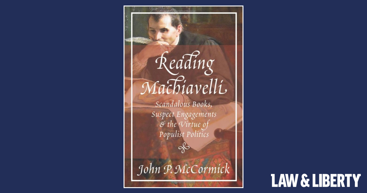 A Makeover for Machiavelli