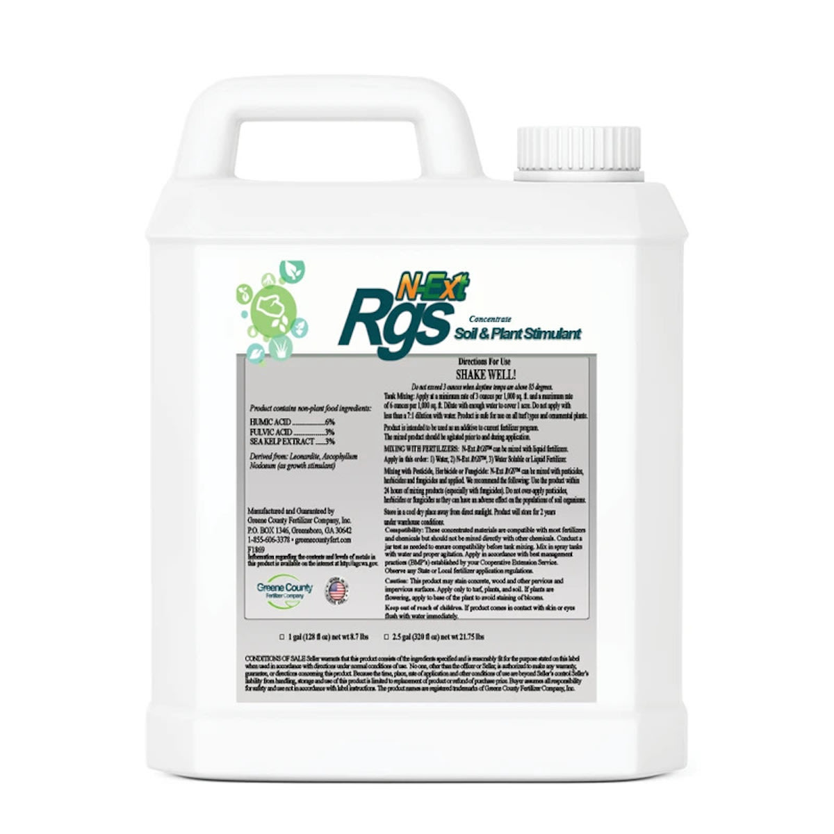 N-Ext RGS Root Growth Stimulant Bottle