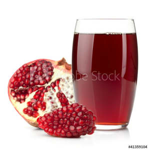 pomegranate juice with
