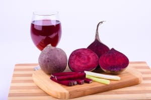 hemochromatosis patients and beets