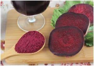 What is beetroot juice powder?