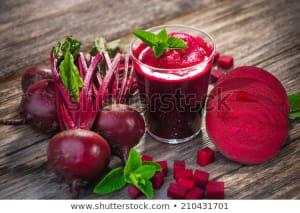Beet juice nutritional content