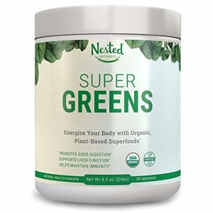 Nested Naturals Super Green Drink Powder Review