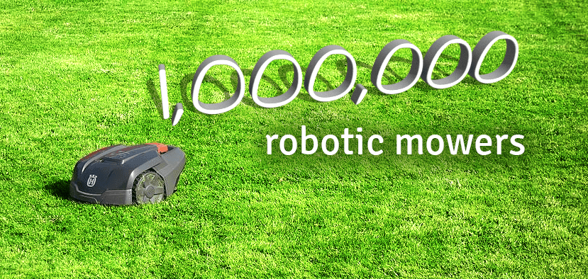 Husqvarna Celebrates 1,000,000 Robotic Mowers and Still Going