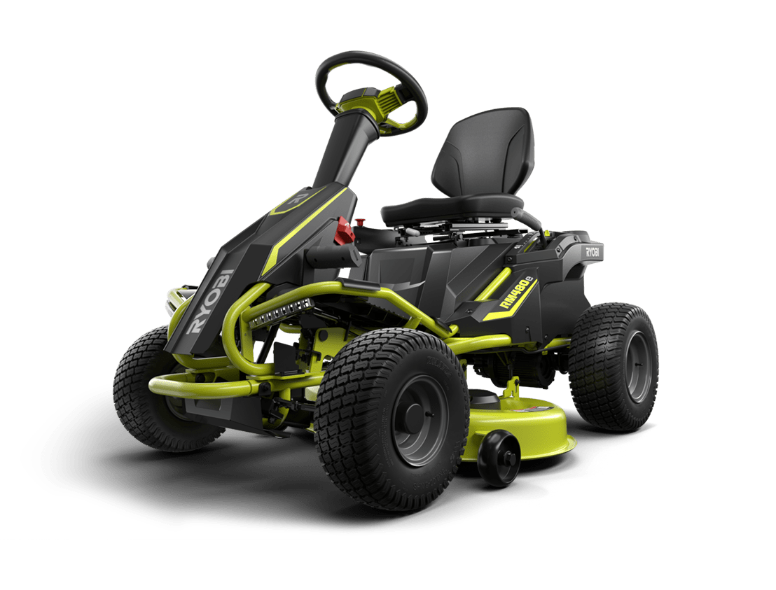 Ryobi RM480e Electric Riding Mower: The Rider That Beats Gas