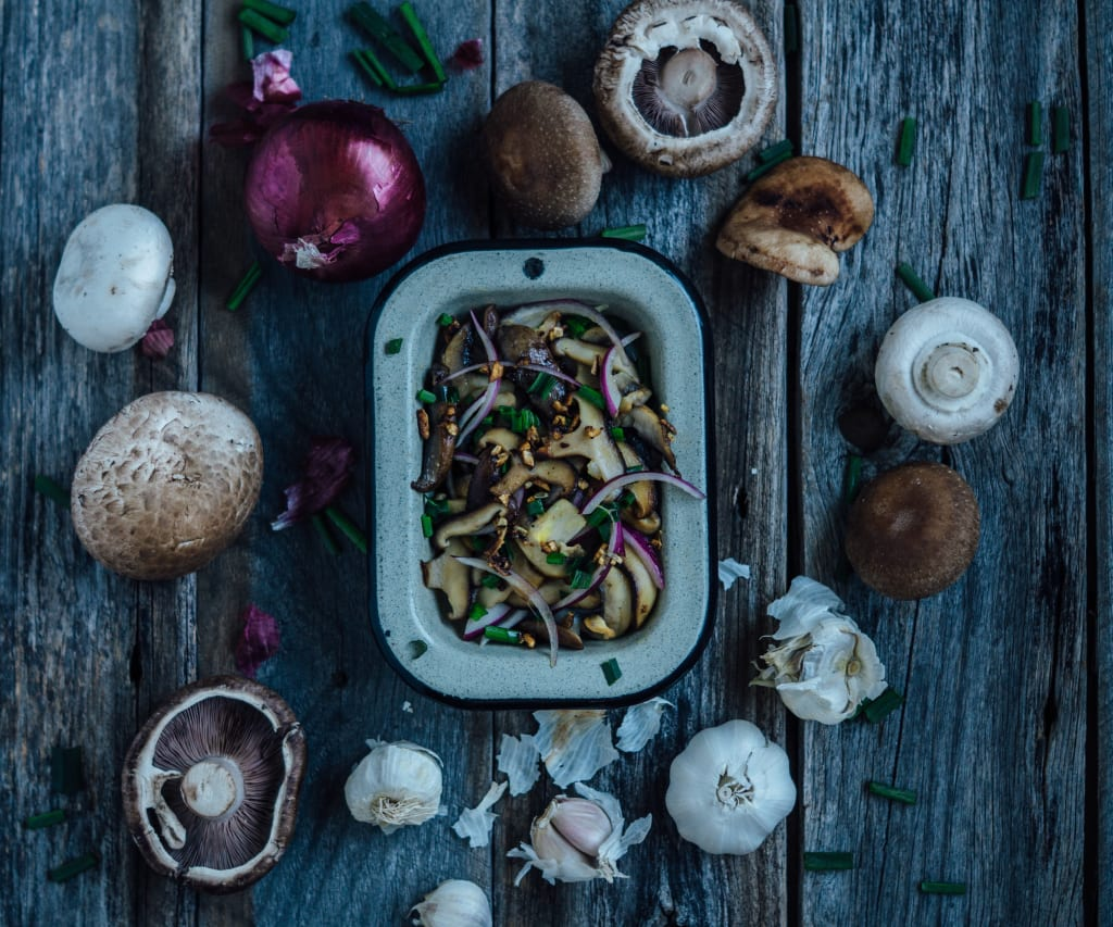 How to Clean Portobello Mushrooms