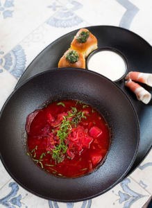 How to make healthy beetroot soup