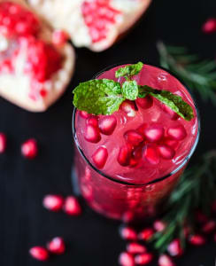 too much pomegranate