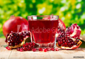 Best time to take pomegranate juice
