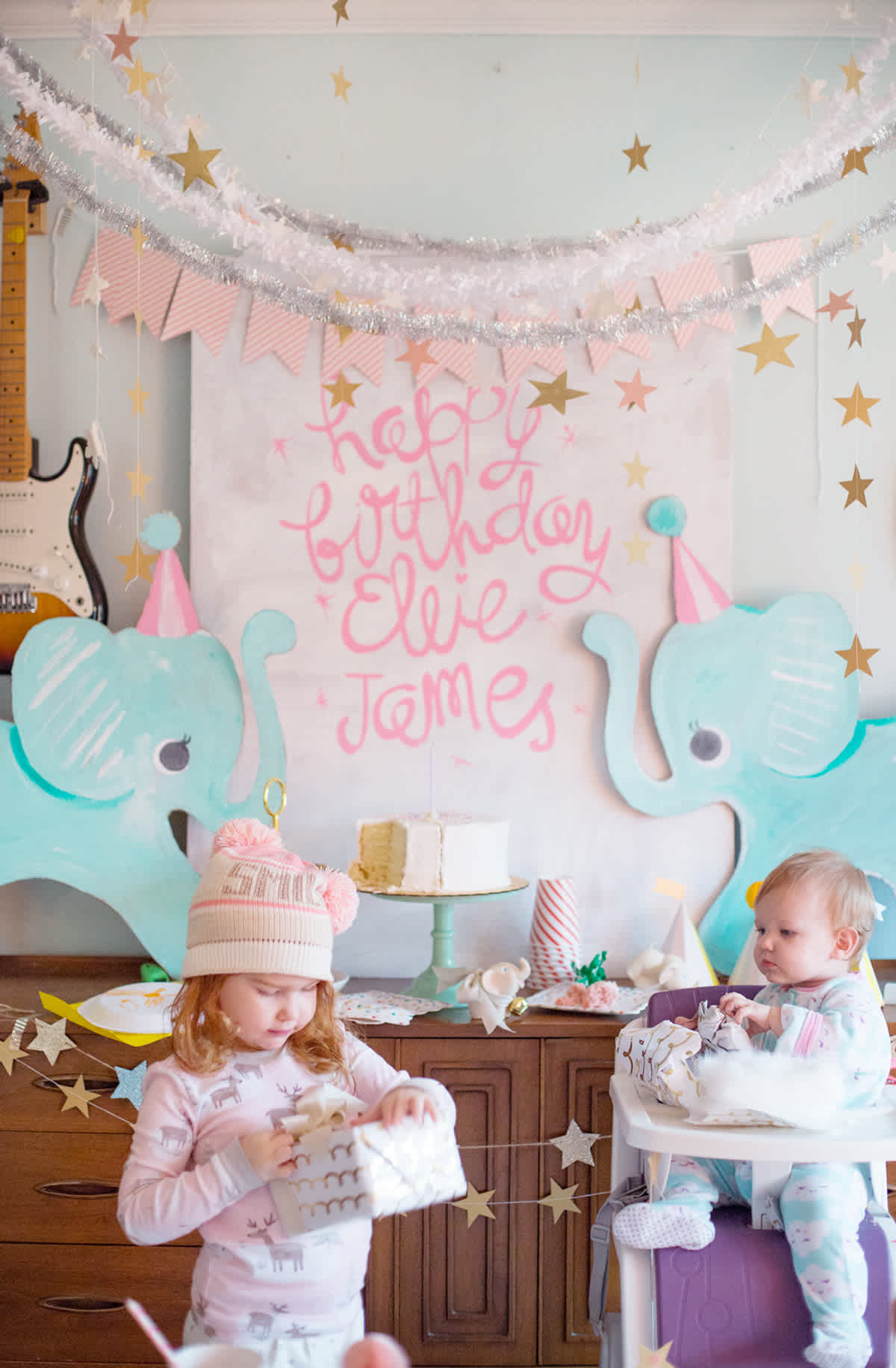 Simple And Sweet First Birthday Party Lay Baby Lay