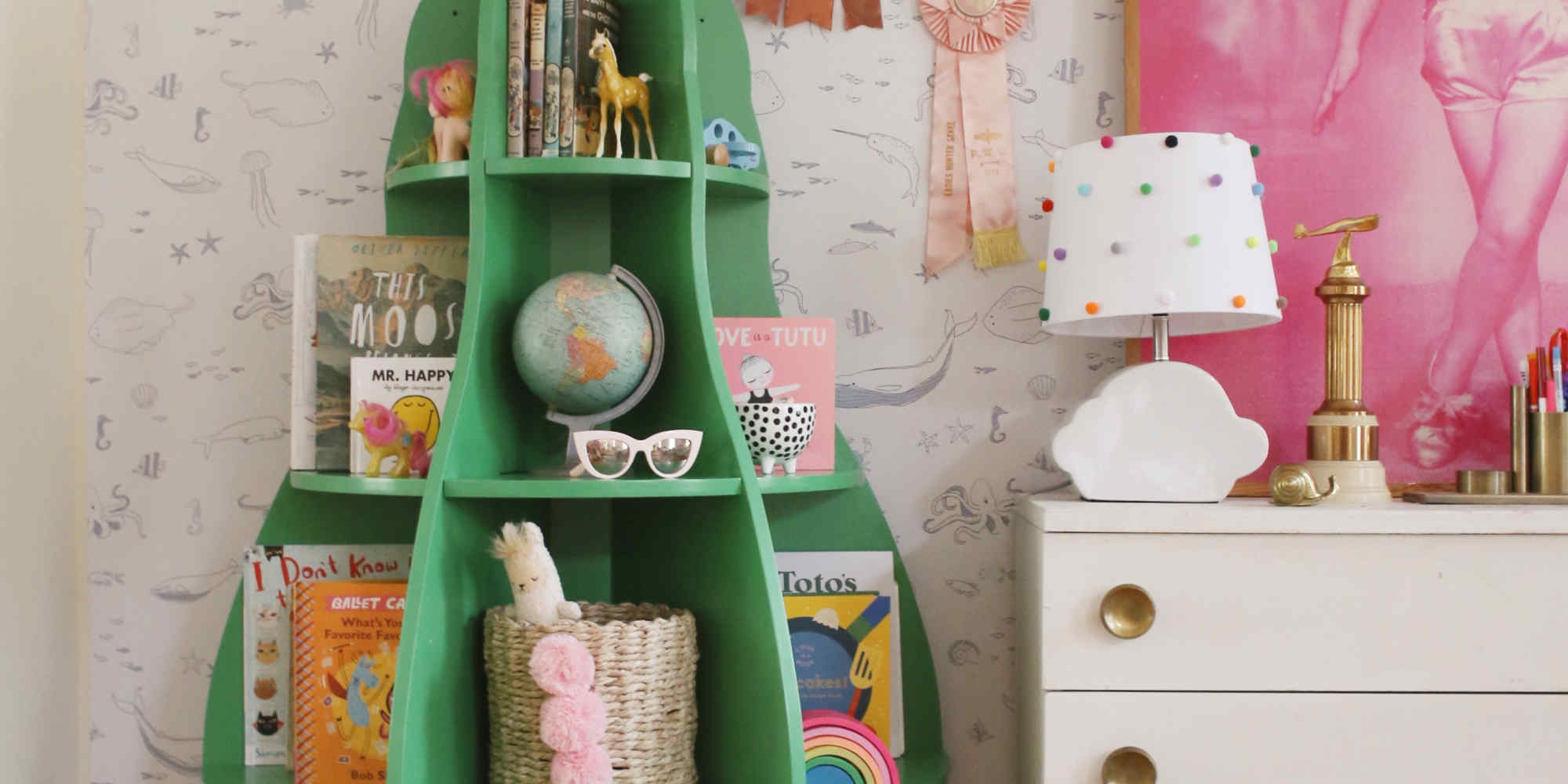 Affordable and Adorable Bookcases