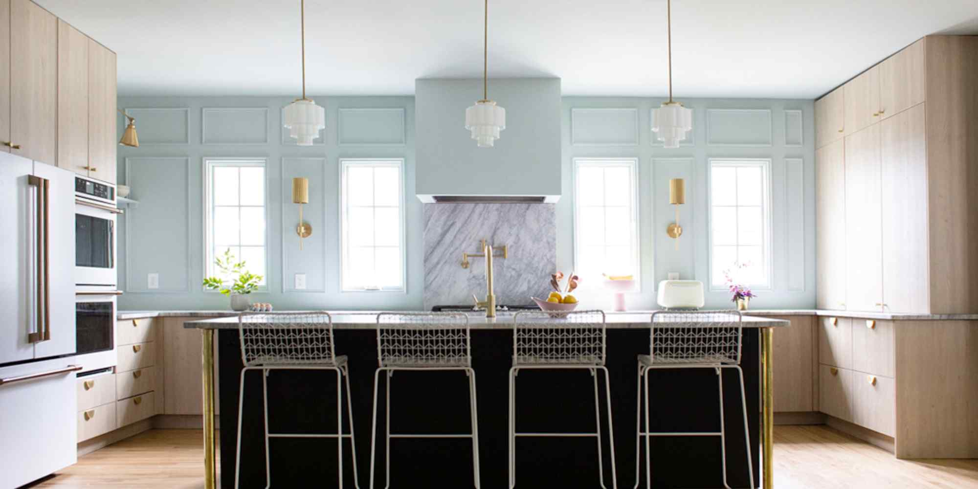 A Blue Kitchen Renovation