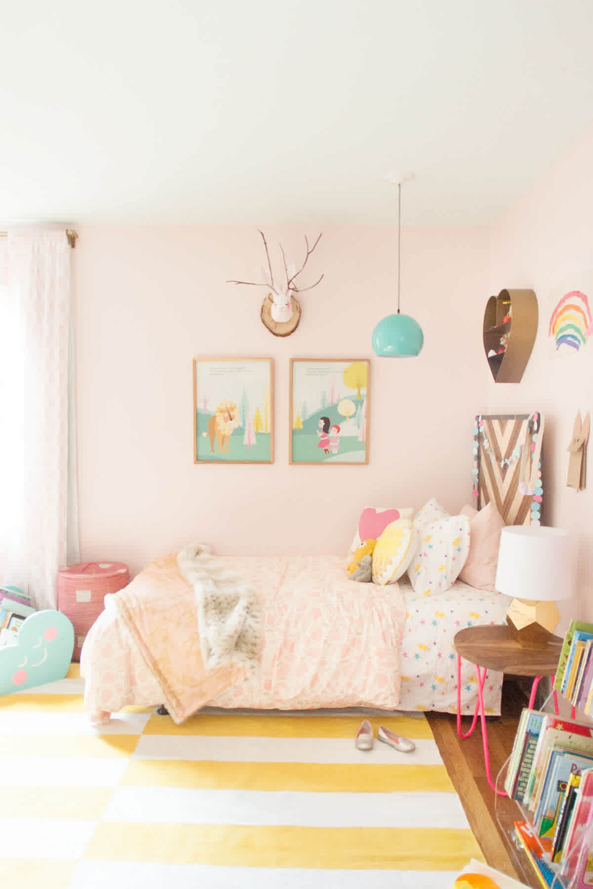 Pink Girl Rooms Pink Shared Girls Room  Lay Baby Lay