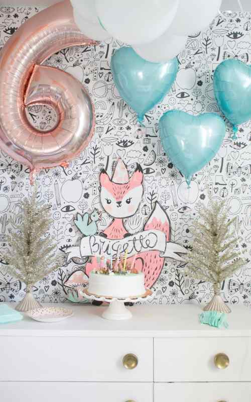 Simple Fox or Woodland Party Ideas for Kids