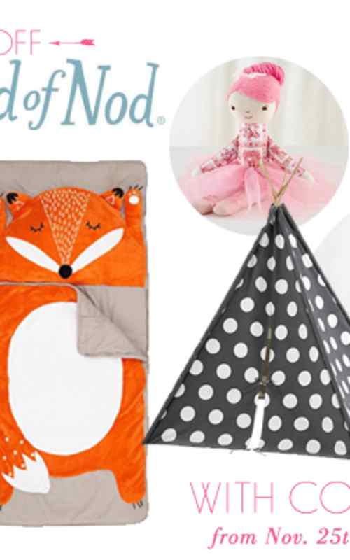 land of nod trunk show