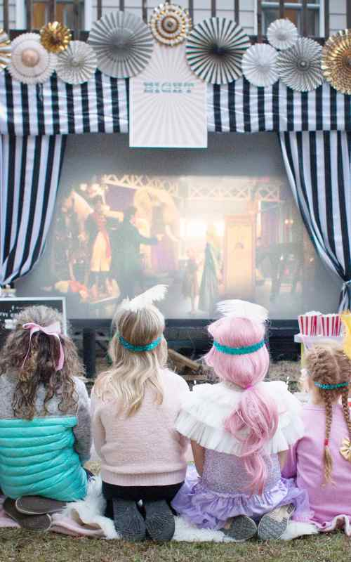 A Greatest Showman Inspired Birthday Party