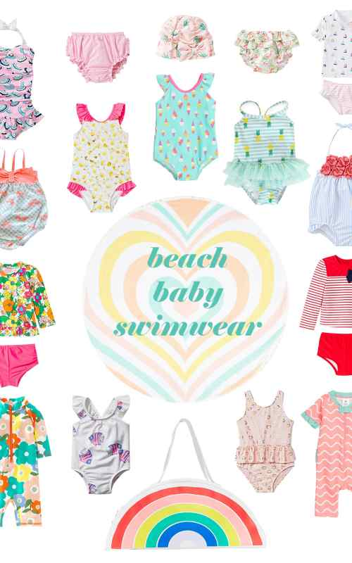 beach baby swimsuits