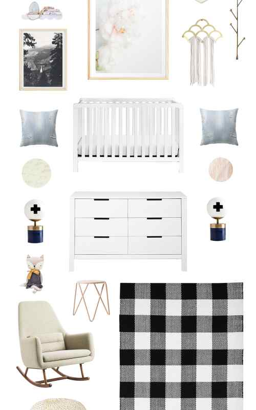 Campy Chic Baby Room Ideas