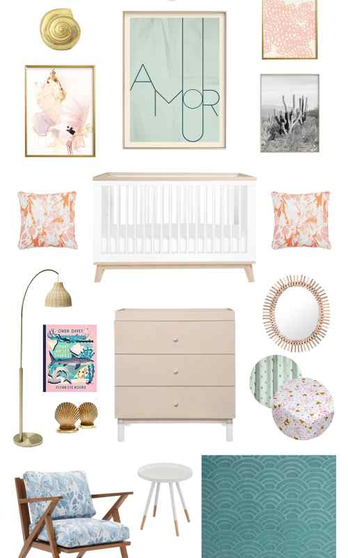 Beachy Boho Baby Room Ideas